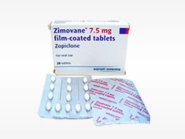 zimovane zopiclone for treatment for insomnia