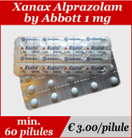 Xanax Alprazolam 1mg